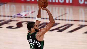 Jayson Tatum trug mit 31 Punkten massgeblich zum Sieg der Boston Celtics bei