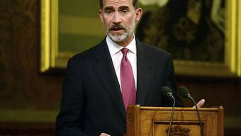Der spanische König Felipe sprach im britischen Parlament.