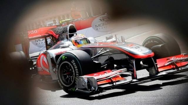 Lewis Hamilton war im ersten Training eine Klasse für sich