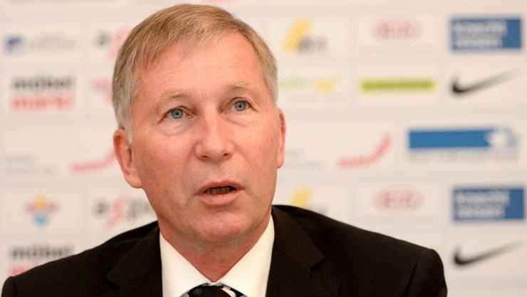 Aarau-Präsident Alfred Schmid wäre enttäuscht, würde das Spiel gegen den FC Zürich nicht wiederholt. (Archiv)