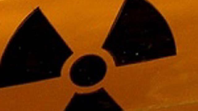 Symbol für Radioaktivität (Archiv)