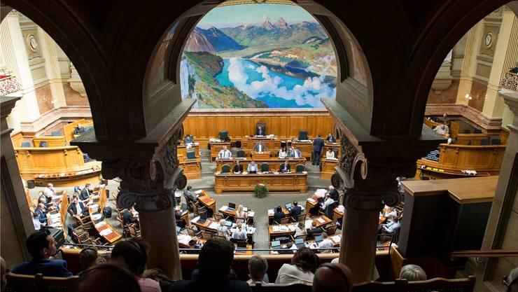 Am 20. Oktober ist es wieder soweit: Die Nationalräte sowie die Ständeräte werden gewählt. (Archivbild)