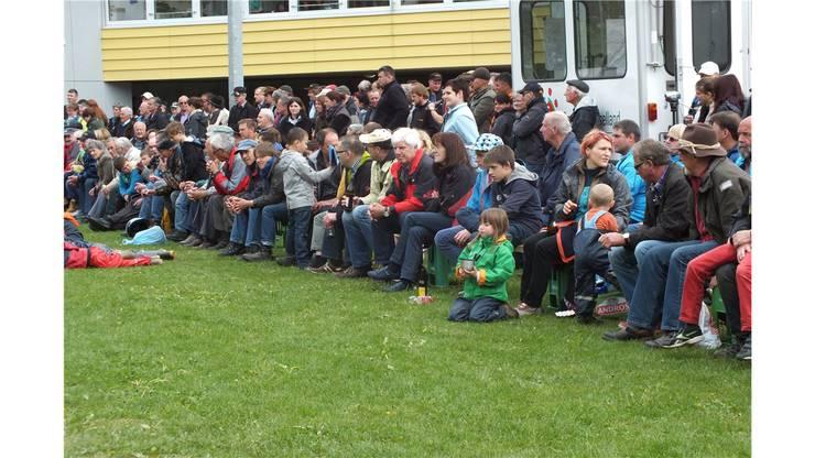 Das Schwingfest in Oberdorf war gut besucht.