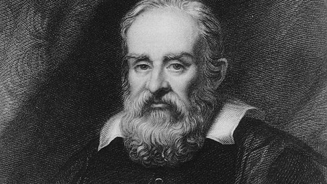 Kupferstich von Galileo Galilei (Archiv)
