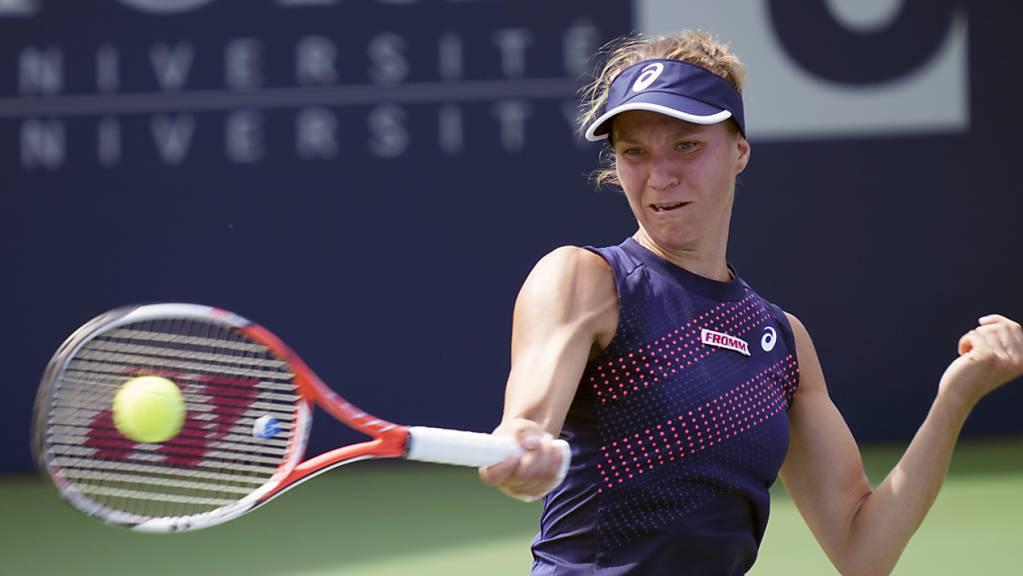 Viktorija Golubic gewann auch die Revanche gegen Maria Camila Osorio Serrano.