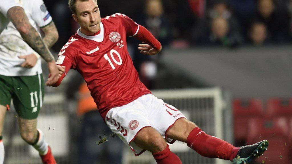 Matchwinner für Dänemark: Tottenham-Regisseur Christian Eriksen sorgt in Dublin für den Unterschied