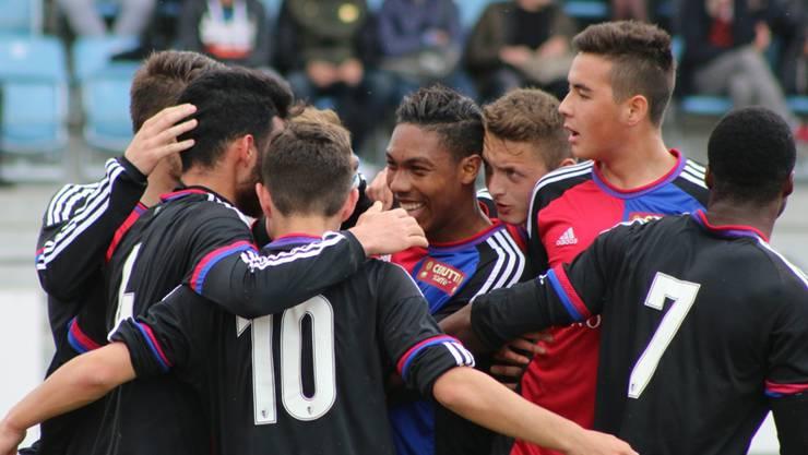 Der FC Basel U21 gewinnt gegen den FC Sion U21 mit 4:1 (Archivbild).