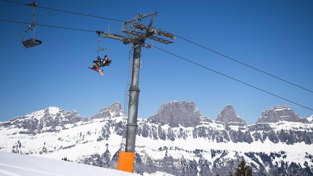 Im Skigebiet Flumserberg kam es am Wochenende zu einem Unfall. (Archiv)