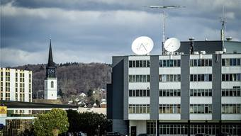 Was die da tun, will niemand so genau wissen: Firma Wavecom in Bülach.
