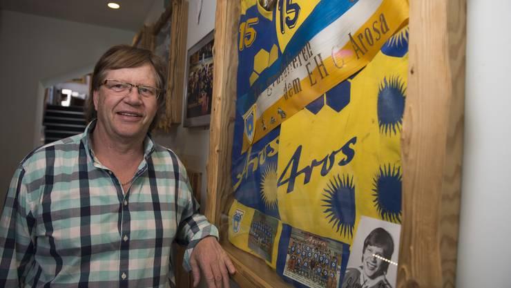 Guido Lindemann, Arosa-Legende und Pubbesitzer.