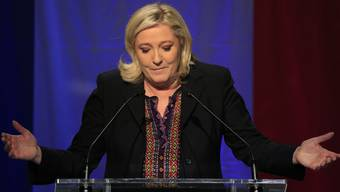 «Ich bin mit mir im Reinen, wir haben bereits jetzt unglaublich viel erreicht – und das ist erst der Anfang», sagt FN-Chefin Marine Le Pen.