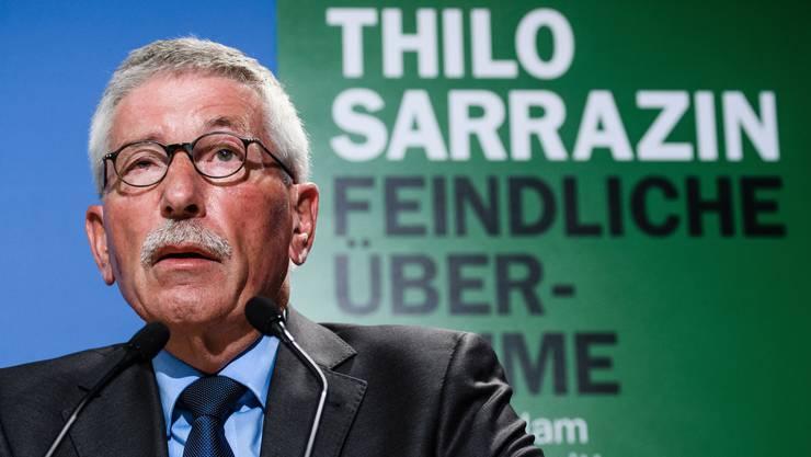 Am 19. Oktober tritt Thilo Sarrazin in Olten auf. Er hält einen Vortrag mit dem Titel «Auf welches Europa steuern wir zu?».