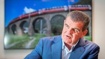 Stadler-Chef Peter Spuhler: Die Cyberkriminellen wollen von seinem Unternehmen sechs Millionen Dollar erpressen.