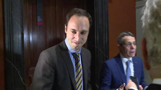 Cassis neuer FDP-Fraktionspräsident