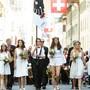Ein grosses Fest in Aarau: Der Maienzug.