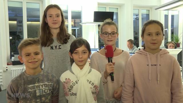 5 Kinder bereichern TeleBärn am Zukunftstag