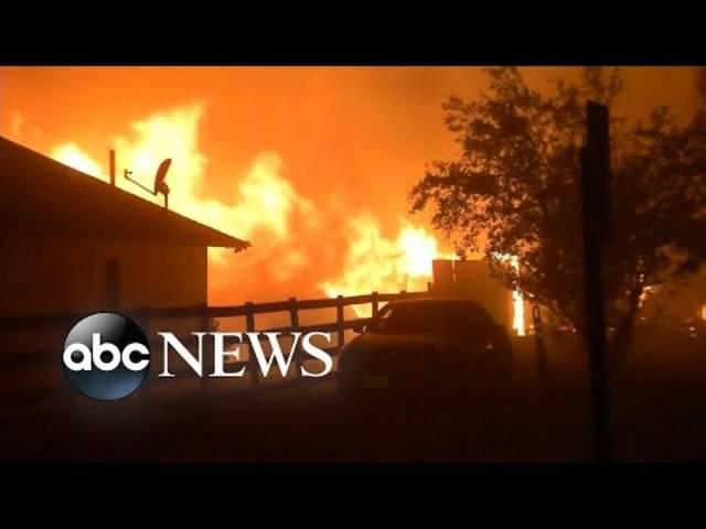 Waldbrände in Kaliforniens Weingebieten ausser Kontrolle