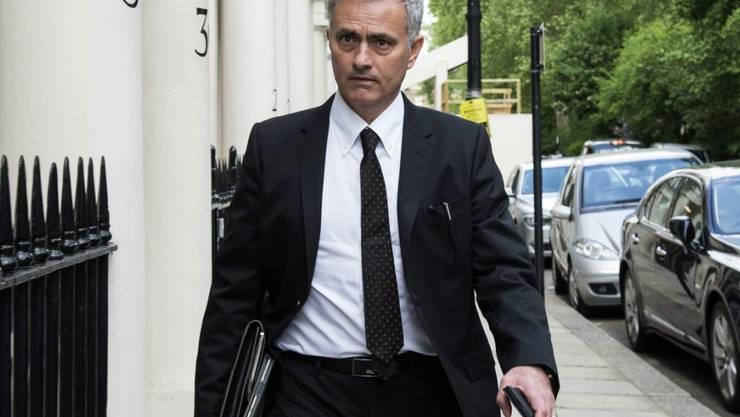 Jose Mourinho wird neuer Trainer von Manchester United