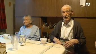 Ältestes Ehepaar der Schweiz: Miggi Horlacher wird 100