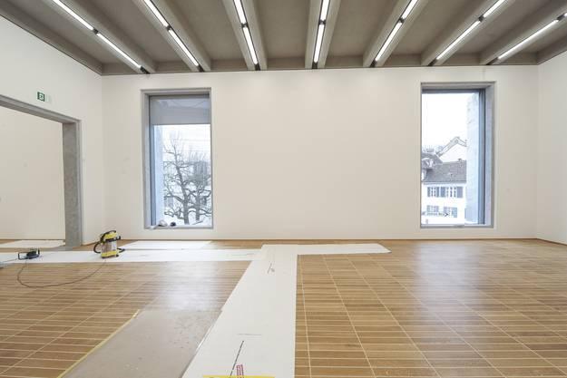 Rundgang durch den Neubau des Kunstmuseums Basel.