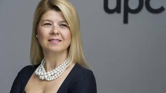 UPC Schweiz-Chefin Severina Pascu muss im dritten Quartal einen Umsatzrückgang hinnehmen. (Archivbild)