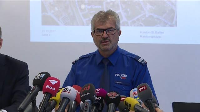 Beil-Attacke in Flums SG: Die komplette Pressekonferenz