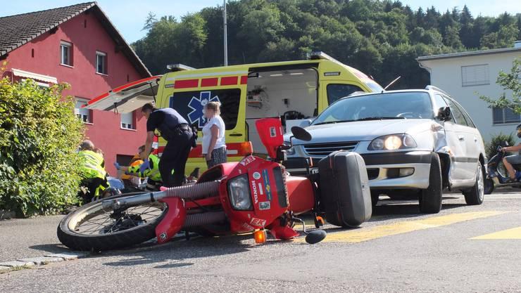 Der 67-Jährige erlitt beim Unfall mittelschwere Verletzungen.