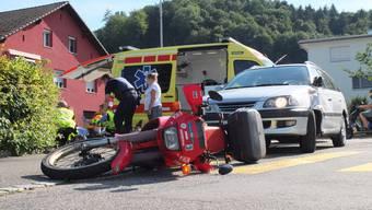 Unfall in Schafisheim
