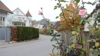 Ausserdorf in Unterlunkhofen. aw