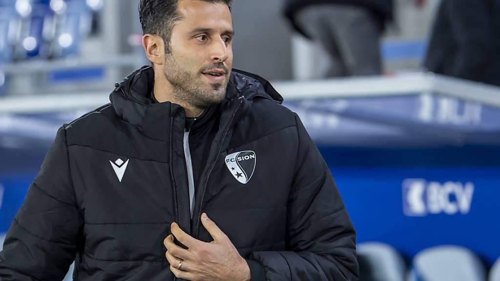 Sion-Trainer Fabio Grosso kann sich auf Zuwachs im Sturm freuen