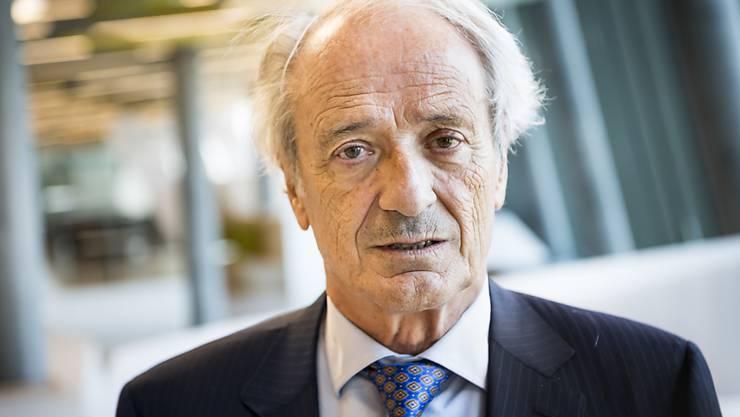 Will zurück in den Nationalrat: der Tessiner Arzt und frühere SP-Bundesparlamentarier Franco Cavalli (76). (Archivbild)