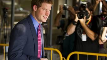 Prinz Harry bei seiner Ankunft in Rio de Janeiro (Archiv)
