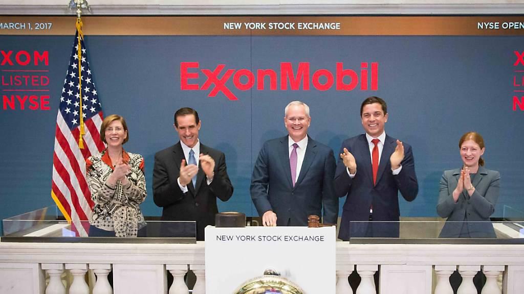 Gewinn von US-Ölriese Exxon sinkt weiter