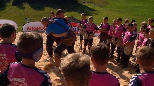 Wildhaus: Jungschwinger trainieren mit Glarner