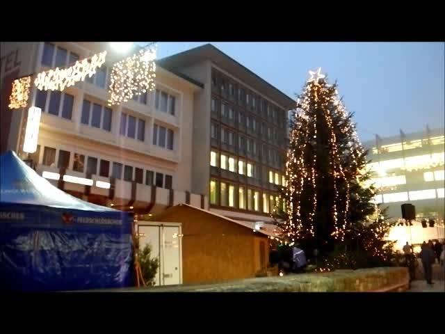 Eindrücke vom 20. Grenchner Weihnachtsmarkt