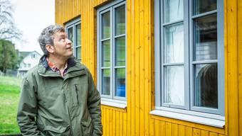 Asyl-Bauchef Christoph Urech unterwegs zwischen Bau- und Amtssprache