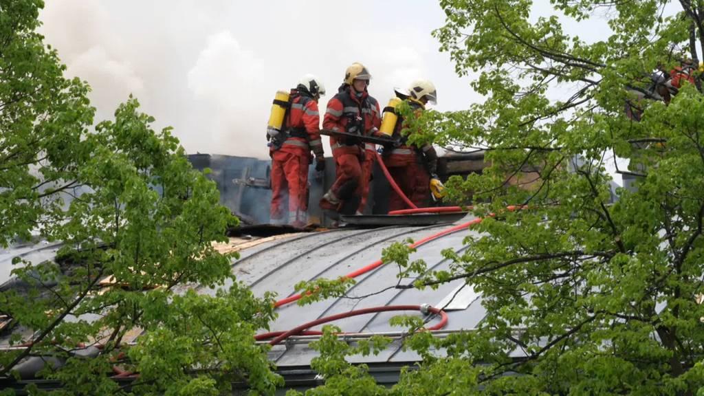 Klinik Hirslanden: Brand im Dach des Südtrakts