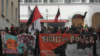 1.Mai-Umzug in Solothurn