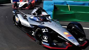 Sébastien Buemi macht in Sanya Platz um Platz gut