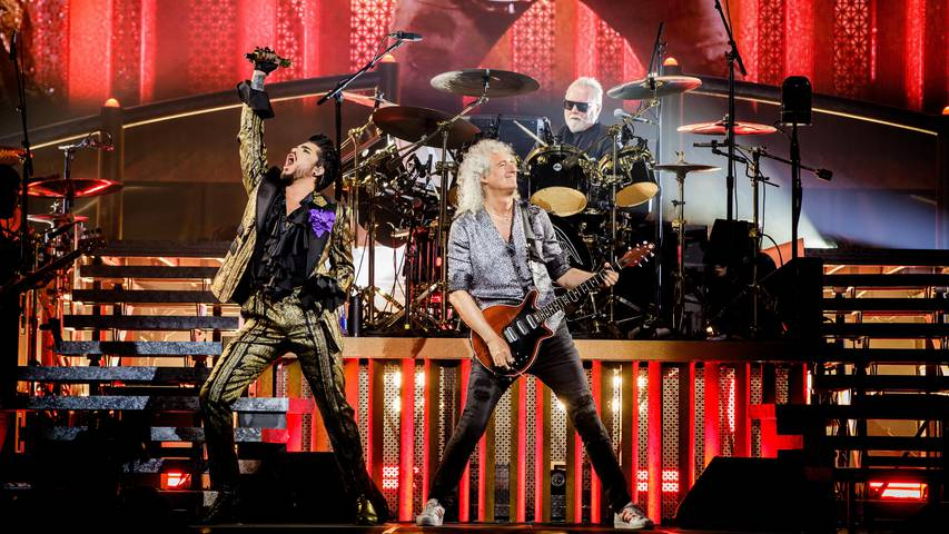 Queen & Adam Lambert - Erlebe die Queen-Geschichte hautnah!