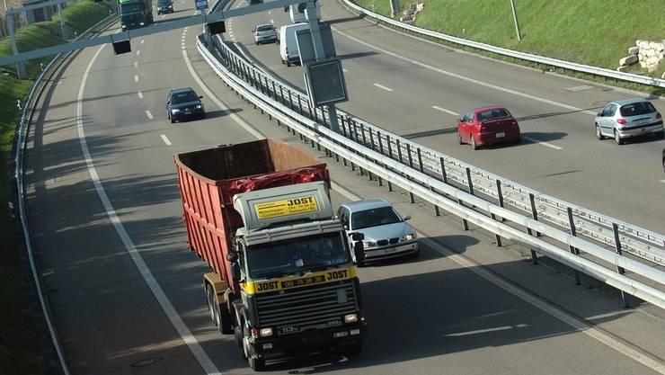 Ein Basler wird auf der Autobahn A3 verletzt – unklar ist bisher wie (Archivbild).