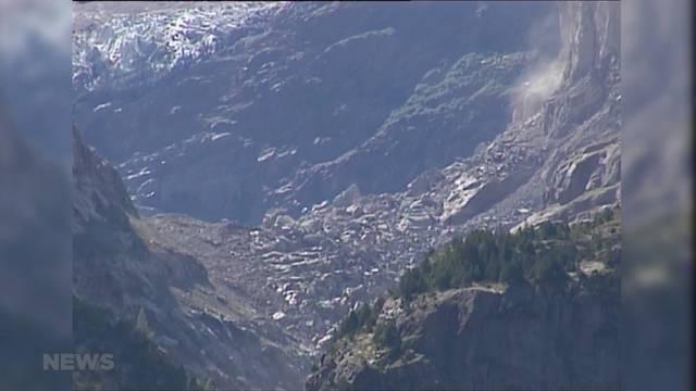 Mit Warnsystem und Stollen gegen Bergsturz-Risiko