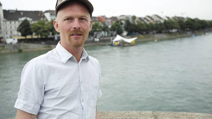 Initiant Daniel Jansen.