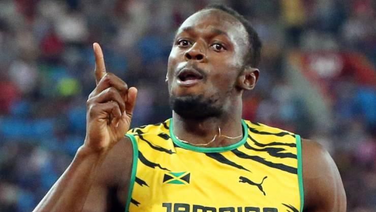 Usain Bolt startet am Wochenende in die Saison.