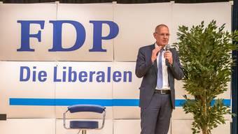 Die Initiative abzulehnen, ohne einen Gegenvorschlag zu unterbreiten, sei «mutlos», sagt FDP-Parteipräsident Stefan Nünlist ohne Umschweife. (Archivbild)