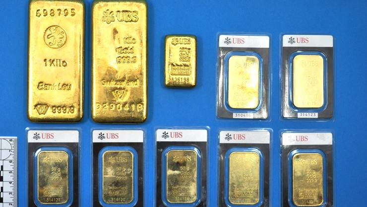 Dieses Gold haben die beiden Gemeindearbeiter gefunden.