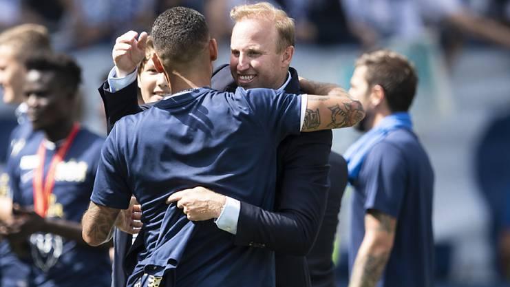Ludovic Magnin ist in seinem ersten Finalspiel als Chefcoach im FCZ gleich erfolgreich