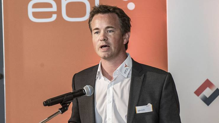 """EBL-Chef Tobias Andrist will sich in der Coronakrise """"maximal kulant"""" zeigen bei Stromrechnungen von Geschäftskunden."""