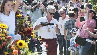 Das Döttinger Winzerfest findet im Oktober zum 67. Mal statt.