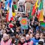 Fordern eine aktivere Klima-Politik von der EU: Demonstranten in Brüssel - unter ihnen auch Aushängeschild Greta Thunberg aus Schweden.